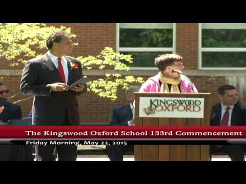 Kingswood Oxford School Commencement
