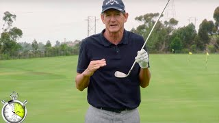 Hank Haney Instruction: Simple Drill For Solid Irons