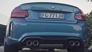 2018 M2 M Performance Exhaust with Carbon Fibre Tips