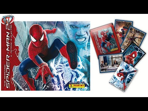 spider-man-2-sticker-collection-album-review-&-pack-opening,-panini