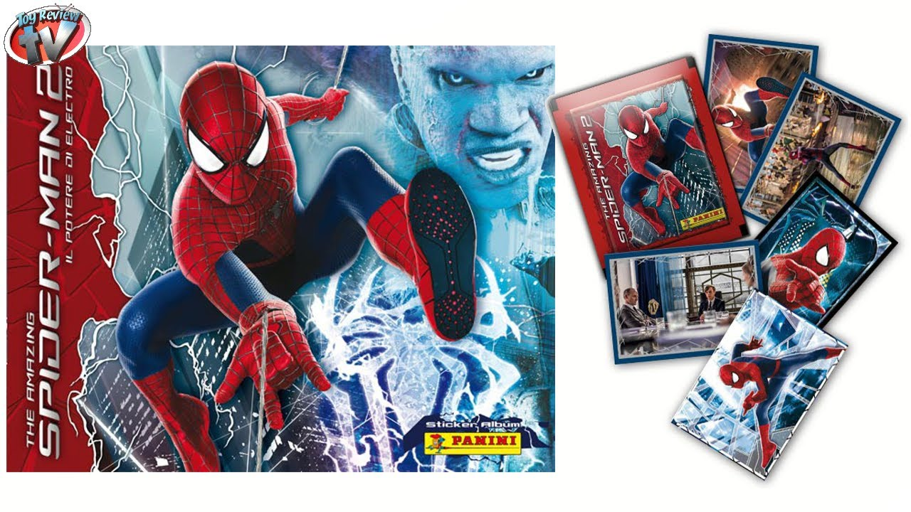 PANINI SPIDERMAN STICKER ALBUM COLLECTION THE AMAZING SPIDER-MAN STICKERS *NEW