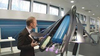 Gros plan sur l'avion hypersonique du futur - futuris