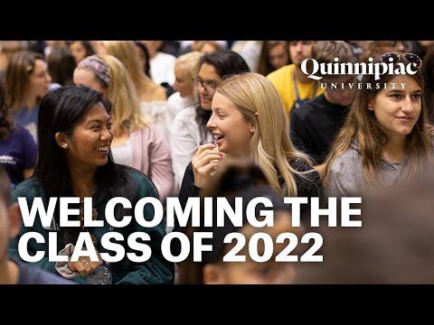 Quinnipiac University Class of 2022 Welcome