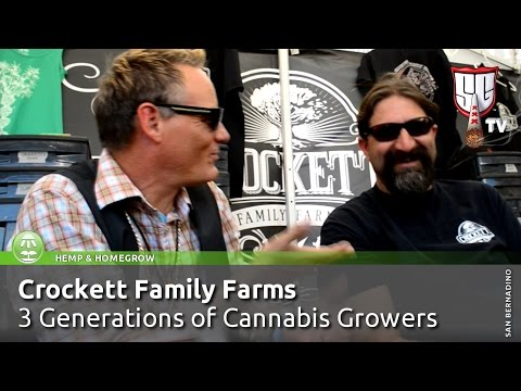 3 Generations of Cannabis Growers - Crockett Family Farms -  Smokers Guide TV California