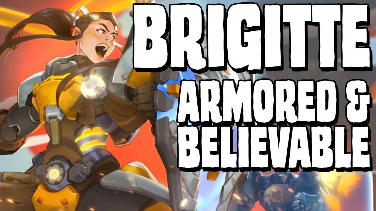 Brigitte armored believable overwatch character design brigitte armored believable overwatch character design analysis buycottarizona