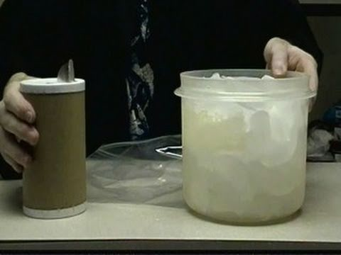 HOW TO MAKE ICE CREAM AT HOME (Ice And Salt Experiment & Thermal Insulators) SCIENCE EXPERIMENT