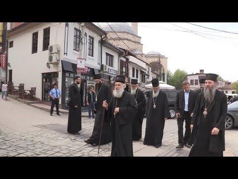 Патријарх српски Иринеј посетио је Призрен заједно са Архијерејима Српске православне цркве