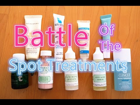 Battle of the Spot Treatments [Best & Worst]
