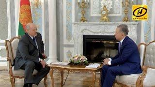 Александр Лукашенко провёл встречу с председателем Мажилиса парламента Казахстана