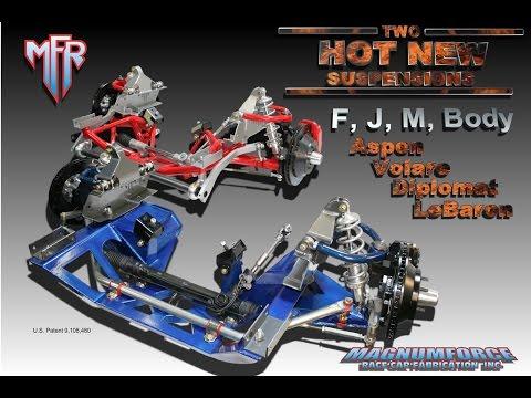F, J, and M-body Mopar, Dodge, Plymouth, Chrysler Suspension Conversion.