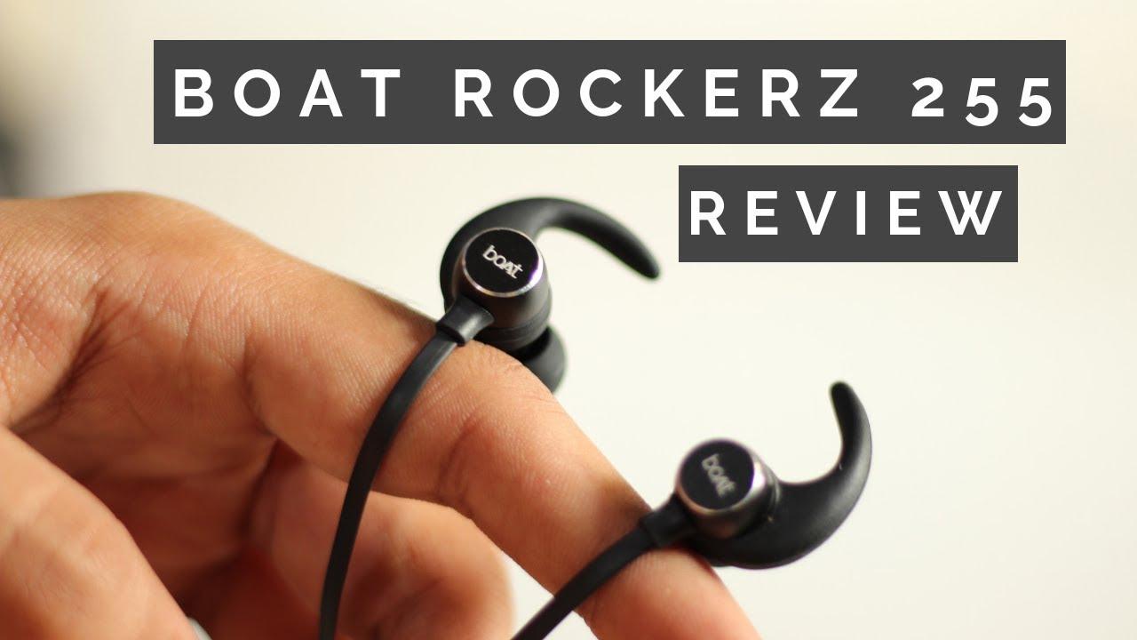Boat Rockerz 255 Sports Bluetooth Wireless Earphone Unboxing Review Themobilestuffs Youtube