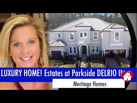 New Homes Dr. Phillips Winter Garden Florida Estates at Parkside by Meritage DelRio II