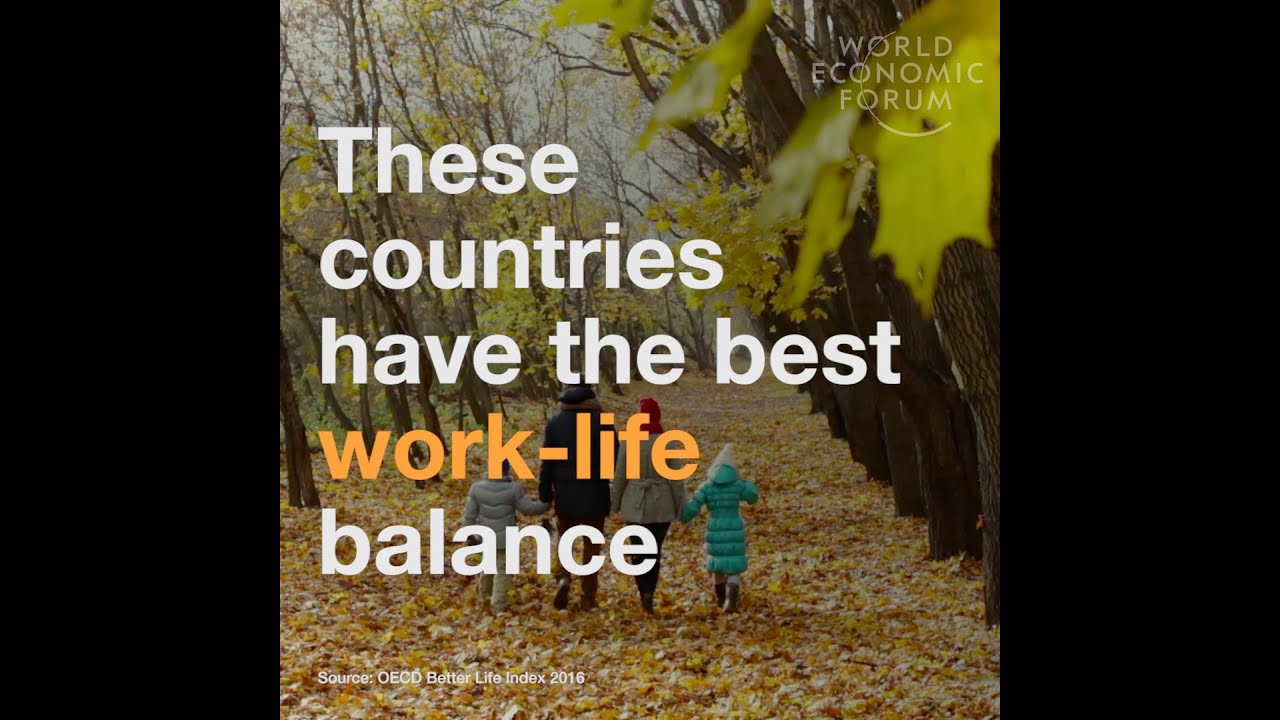 These Countries Have The Best Work Life Balance