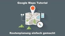 Google Maps   My Maps   Fortgeschrittene Routenplanung