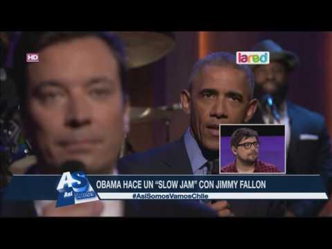 Barack Obama se lució junto a Jimmy Fallon