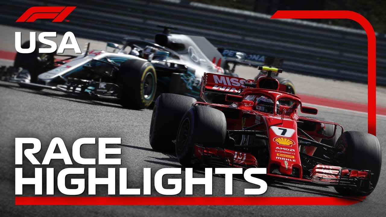 2018 United States Grand Prix Race Highlights Youtube