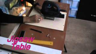 Multifunction Table Make-part 2-table Saw, Router Table, Plane Table, Jigsaw Table.
