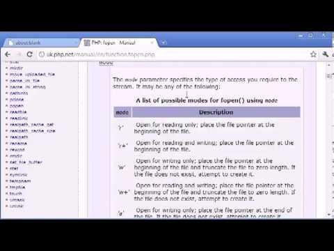 Học lập trình web PHP online - phần 1: Giới thiệu