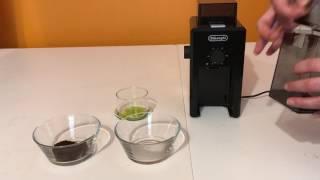 Delonghi KG79 | En iyi Kahve için Modifiyeli | Çekilmiş Kahve Örnekleri ile