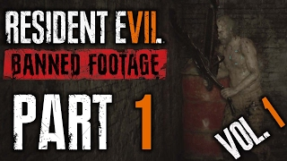 Resident Evil 7   Banned Footage Vol.1 DLC   Lets Play w Facecam   Part 1   Nightmare