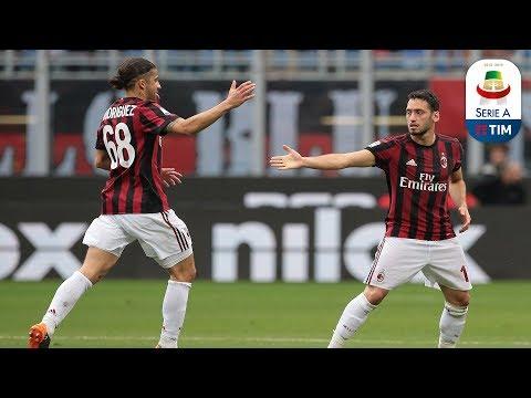 Il gol di Calhanoglu - Milan - Fiorentina 5-1 - Giornata 38 - Serie A TIM 2017/18
