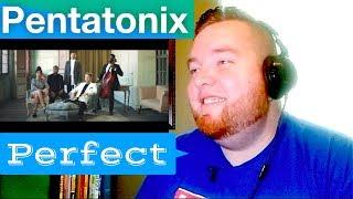 [OFFICIAL VIDEO] - Perfect Pentatonix -  Jerod M 1st Pentatonix REACTION