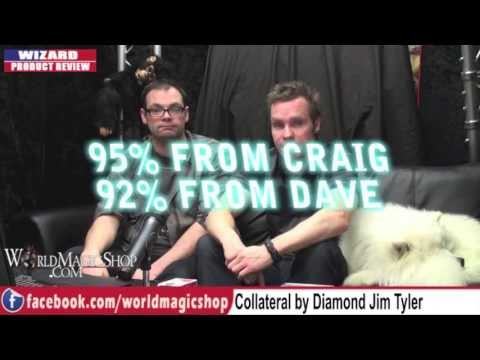 Diamond Jim Tyler Collateral DVD Review by World Magic Shop