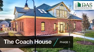 The Coach House: PHASE 1. Built By DAS.