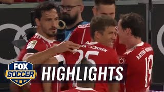 Bayern Munich vs. Bayer Leverkusen | 2017-18 Bundesliga Highlights