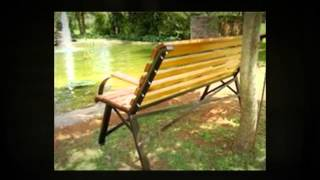 Garden Bench Metalworking And Woodworking Project