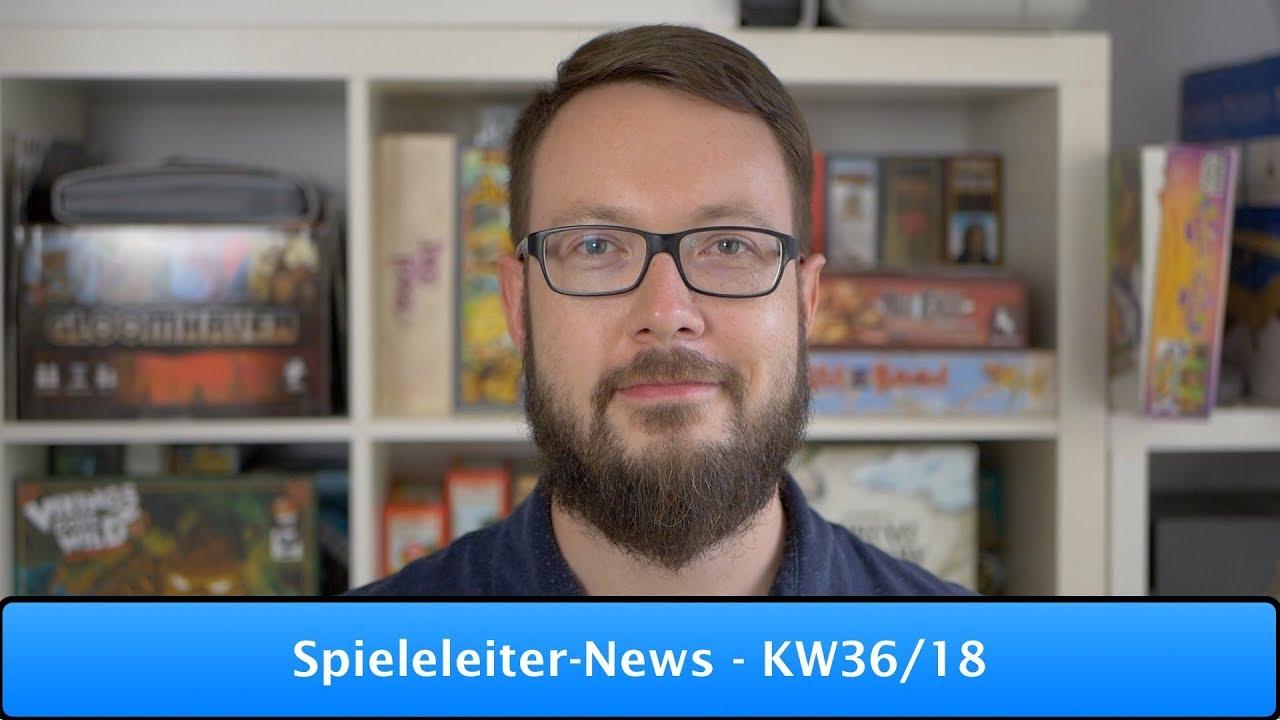 Spieleleiter-News - KW36/18 #1