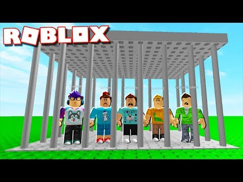Roblox Adventures - DO NOT GET CAPTURED IN ROBLOX! (Build a Trap)