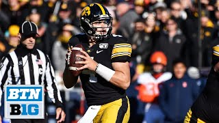 Nate Stanley Talks Holiday Bowl Selection | Iowa Football