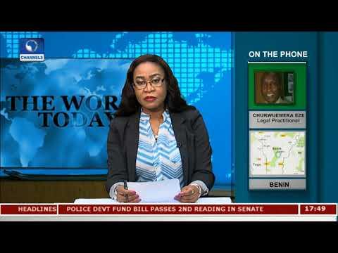 Chukwuemeka Eze Speaks On Rohingya Crisis