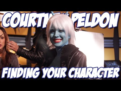 Courtney Peldon  Finding your Character