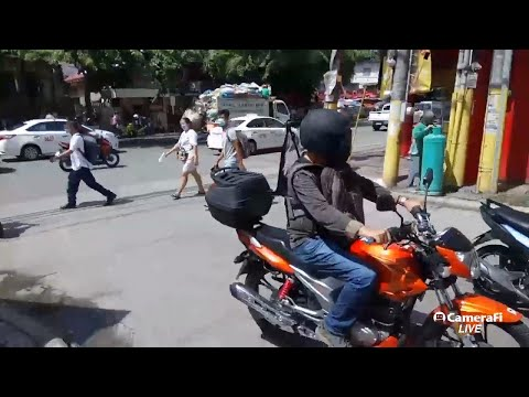 Philippines LIVE: Sunny Day Street Walk Cebu City Philippines