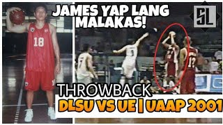 UAAP Throwback:JAMES YAP vs RENREN RITUALO | UE vs DLSU UAAP Season 64