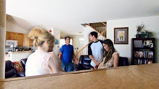 TELLING MY PARENTS GIRLFRIEND IS PREGNANT PRANK! (UNEXPECTED REACTION)