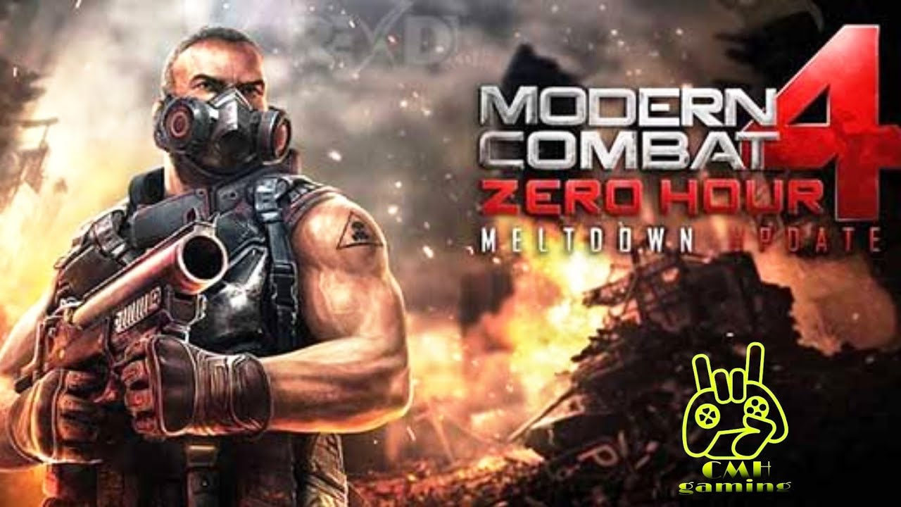 Modern combat 4 gameplay | Mission 4 | New world Order walkthrough |  by cmh gaming