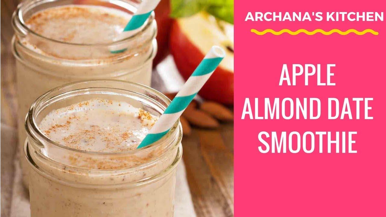 Almond-Apple Drink: Fat Burning Drink