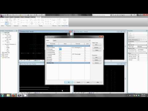 Creating Mechanical Equipment Families in Revit 2013 Part I: Fundamentals and Geometry