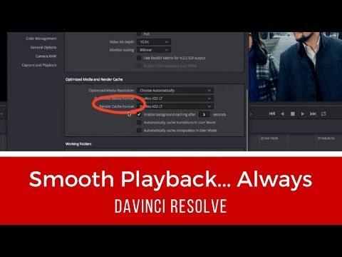 Smooth Playback...Always (DaVinci Resolve)