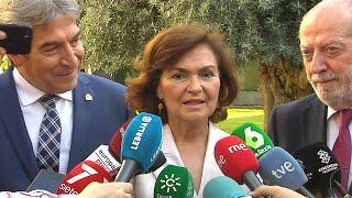 """Calvo aboga por la """"calma"""" para formación del Gobierno"""