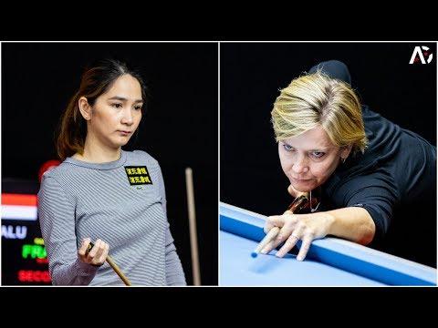 2019 World 9-Ball China Open│Angeline Ticoalu Vs Allison Fisher