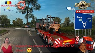 Euro Truck Simulator 2 (1.36)   Kässbohrer Ownable Trailer Pack v1.0 by VirtualServiceETS2 Mercedes Actros MP4 Road to Ukraine Roextended map Project v2.5 by Arayas Naturalux Graphics and Weather + DLC's & Mods  Support me please thanks Support me economi