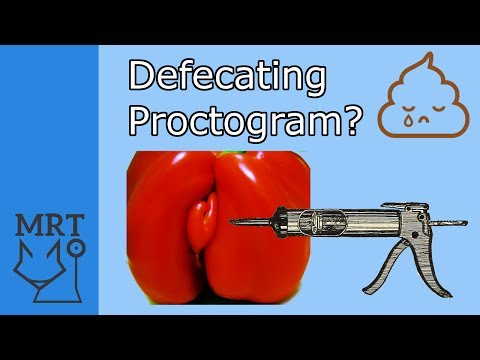 Gross Medical Procedures 1 - Defecating proctogram (Medicine Real Talk)