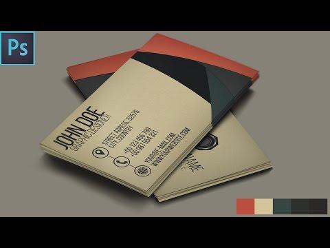 Creative Business Card - Photoshop Tutorial