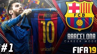 FIFA 19 Barcelona Career Mode EP1 - New Signings!! Road To Champions League Glory!!