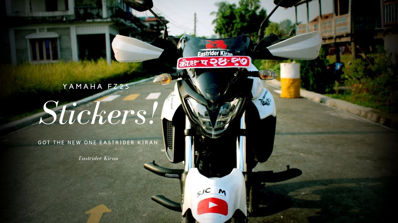 Bikestickers dharan eastriderkiran