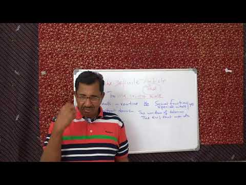 THE DEFINITE ARTICLE  PART FIVE. GRAMMAR CLASSES BY PROF. THOMAS MATHEW.